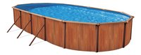 Atlantic Pools piscine Esprit II Redwood 5,49 x 3,66 m