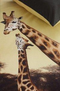 Beddinghouse Housse de couette Masai giraffe ocre coton 240 x 220 cm-Détail de l'article