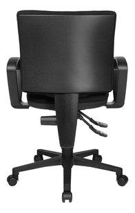 Topstar chaise de bureau avec accoudoirs U50 noir-Arrière