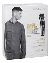 BaByliss for men Tondeuse Carbon Titanium E978E-Linkerzijde