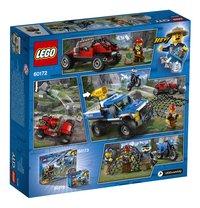 LEGO City 60172 Modderwegachtervolging-Achteraanzicht