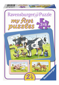 Ravensburger puzzle 3 en 1 My First Les bons amis-Avant
