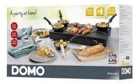 Domo Wok-/gourmetset DO8712W-Rechterzijde