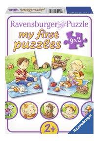 Ravensburger 9 puzzels My First Kleine avonturiers-Vooraanzicht