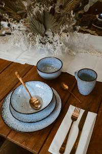Cosy & Trendy 6 tasses à café Tessa Blue 35 cl-Image 2