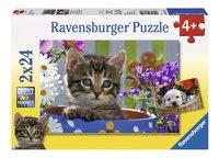 Ravensburger Puzzel 2-in-1 Schattige viervoeters-Vooraanzicht