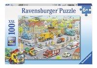 Ravensburger XXL puzzel Voertuigen in de stad