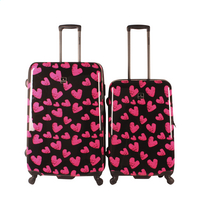 Saxoline Set de valises rigides Hearts Spinner