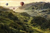 Ravensburger puzzel Rijstterrassen in Azië-Vooraanzicht