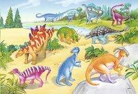 Ravensburger puzzle 2 en 1 Dinosaures multicolores-Détail de l'article