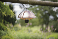 Sunred Elektrische hangende terrasverwarmer Mushroom 1500 W koper-Afbeelding 3