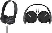 Sony casque MDR-ZX110 noir-Avant