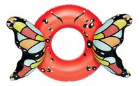 BigMouth grote zwemband Butterfly Wings Red-commercieel beeld