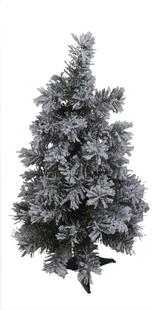 Kerstboom besneeuwd 60 cm