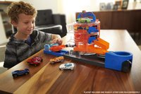 Hot Wheels City speelset Super Spin Dealership-Afbeelding 3