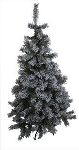 Kerstboom groen besneeuwd 150 cm