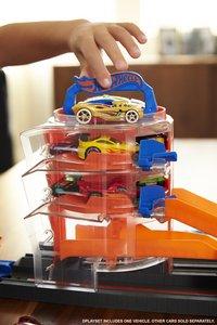 Hot Wheels City speelset Super Spin Dealership-Afbeelding 5