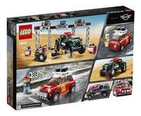 LEGO Speed Champions 75894 Mini Cooper S Rally 1967 et Mini John Cooper Works Buggy 2018-Arrière
