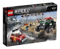 LEGO Speed Champions 75894 Mini Cooper S Rally 1967 et Mini John Cooper Works Buggy 2018-Côté gauche