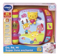 VTech Do, Ré, Mi Super livre enchanté rose-Avant