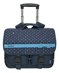Kickers trolley-boekentas Girly Navy Blue 42 cm