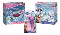 Disney Princess La Pantoufle Magique + La Reine des Neiges Magical Ice Palace Game + La Reine des Neiges Blopens Kit