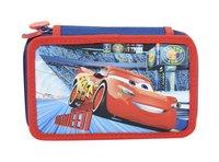 Plumier garni Disney Cars rouge/bleu
