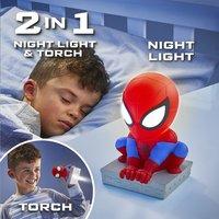 GoGlow Buddy veilleuse/lampe de poche Spider-Man-Image 7