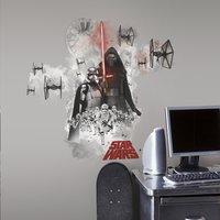 Muurstickers Star Wars VII Vilain
