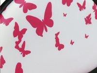 Kinderbureaustoel Vlinder roze-Artikeldetail