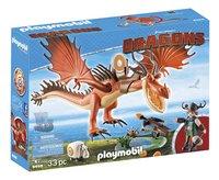 PLAYMOBIL Dragons 9459 Snotkrot & Haaktand-Linkerzijde