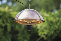 Sunred Elektrische hangende terrasverwarmer Mushroom 1500 W koper-Afbeelding 2