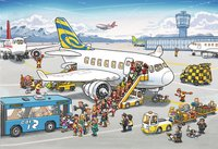 Ravensburger puzzle 2 en 1 Dans l'aéroport-Avant