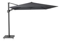 Platinum parasol suspendu Challenger T2 aluminium 3 x 3 m Anthracite-Avant