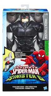 Hasbro Figuur Ultimate Spider-Man vs The Sinister 6 Marvel's Rhino met pantser-Vooraanzicht