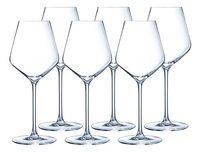 Eclat Cristal d'Arques Paris 6 verres à vin rouge Ultime 47 cl-Avant