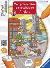 Ravensburger Tiptoi Mon premier livre de vocabulaire Anglais FR