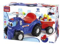 Abrick Tracteur avec remorque-Côté droit