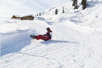 Nijdam slee Snowhoover fuchsia-Afbeelding 2