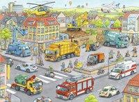 Ravensburger puzzle XXL Véhicules dans la ville-Avant