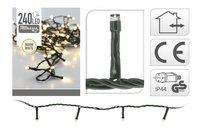 Guirlande lumineuse LED 240 lampes blanc chaud-Détail de l'article