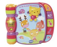 VTech Do, Ré, Mi Super livre enchanté rose FR
