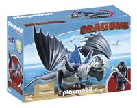 Playmobil Dragons 9248 Drako met bepantserde draak