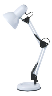 Bureaulamp Hobby Steel wit