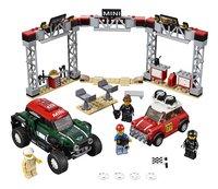 LEGO Speed Champions 75894 Mini Cooper S Rally 1967 et Mini John Cooper Works Buggy 2018-Avant