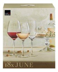 Royal Leerdam 18-delig glasservies June-Vooraanzicht