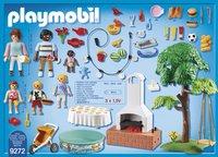 PLAYMOBIL City Life 9272 Famille et barbecue estival-Arrière