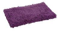 Clarysse badmat Pearl Cotton Twist aubergine 70 x 120 cm-Vooraanzicht