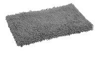 Clarysse tapis de bain Pearl Cotton Twist gris 70 x 120 cm