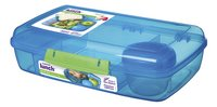 Sistema lunchbox Bento Box Duo blauw